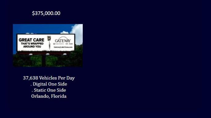 Billboards For Sale - All Copyrights Reserved